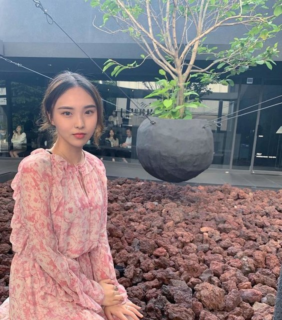 yunji39 - Jumper Flora Rosa