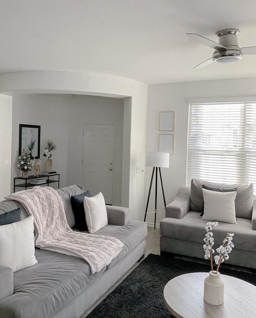 Lodge 96 Light Blue Sofa Living Spaces