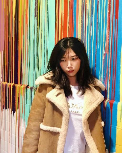 Claire Tang - Chamarra en Piel de Borrego Farley