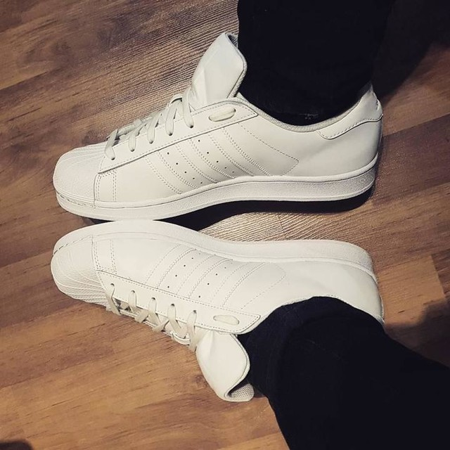 Adidas Men Superstar Foundation white white ftw running white Bait