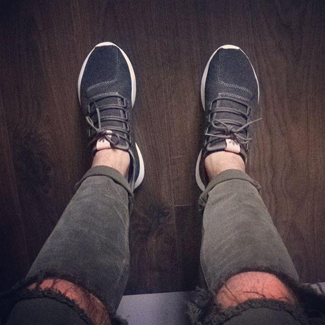Menu0026#39;s Tubular Shadow Knit Shoes