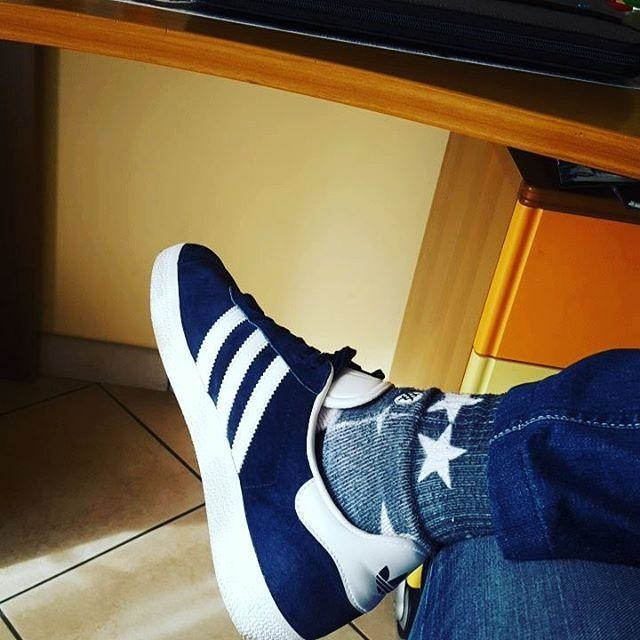 The brand with the three stripes 👞🔝