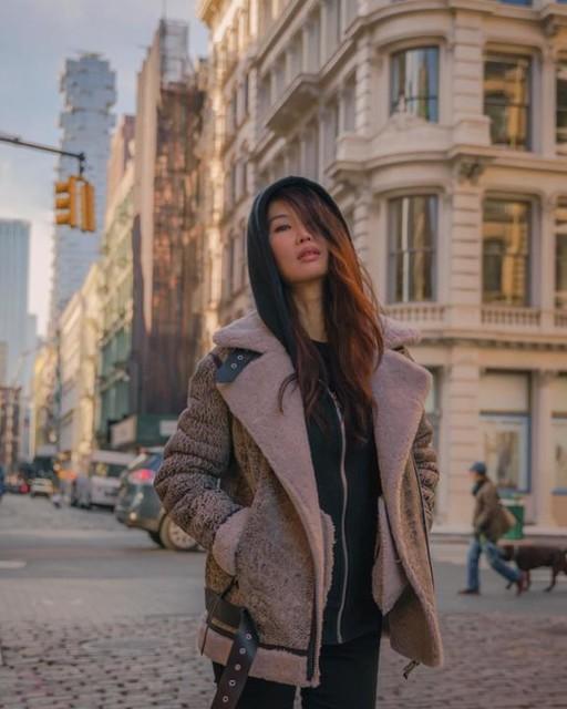 arumseo - Giacca Shearling Rei - In pelliccia di montone