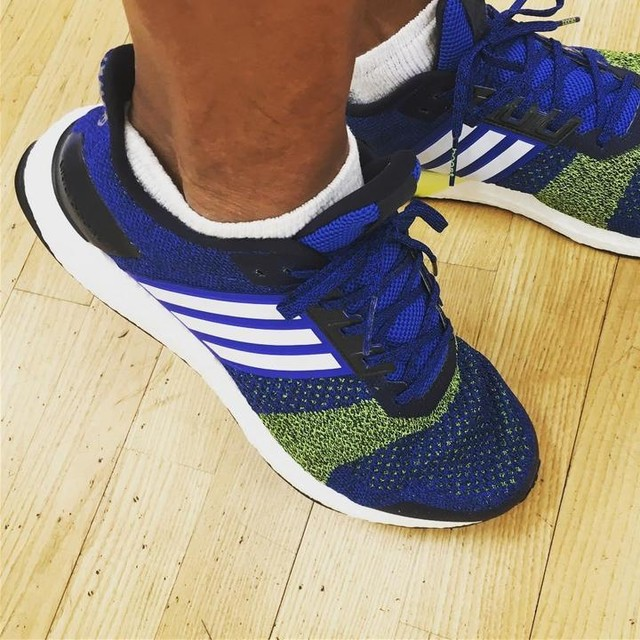 Took this bad boy on a test run. Performed very well. #adidas #ultraboost #adidasultraboost