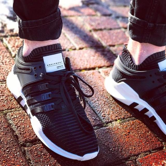 My new favs, EQT support primeknit @adidasoriginals #adidas #sneakers #equipment #eqt #eqtsupport #primeknit #sneakerhead #sneakerheads #kickfeed #kickstagram #sneakergram