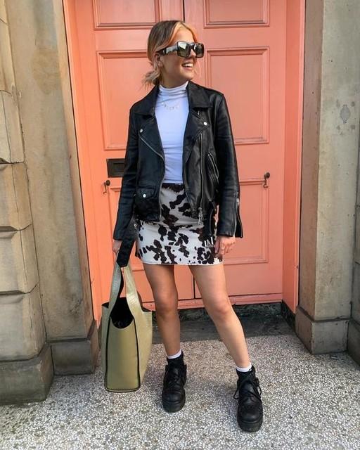 hannahcollinszs - Luna Leather Biker Jacket