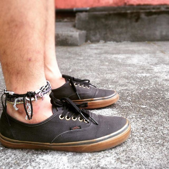 Vans Authentic Black On Feet