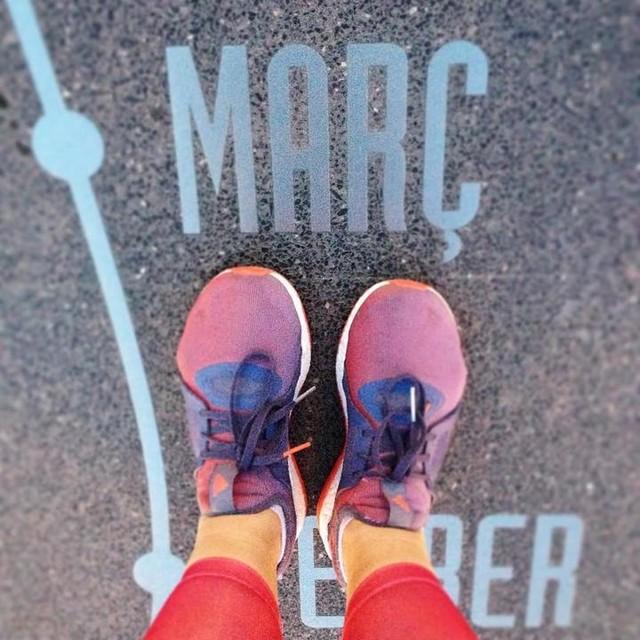March has started: 7pm and still not totally dark👍🏻 #adidas #pureboostx #fitster #fitgirl #fitstagram #instarun #instafit #runninggirl #sundayrunday