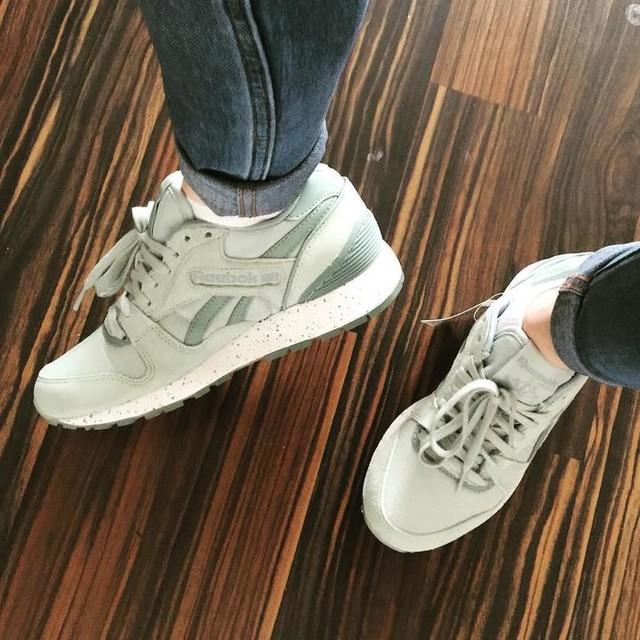 Keep it or return it 😭😭😭 #shoes #reebokclassic #reebok #mint #mintgreen #expensive #expensiveshoes