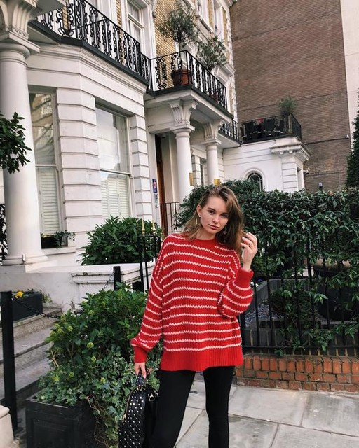 alexx2318 - Renne Stripe Sweater