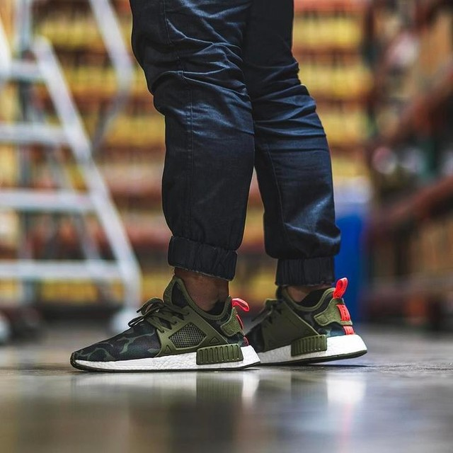 Adidas NMD XR 1 'Duck Camo' Releasing on Black Friday Sneakers