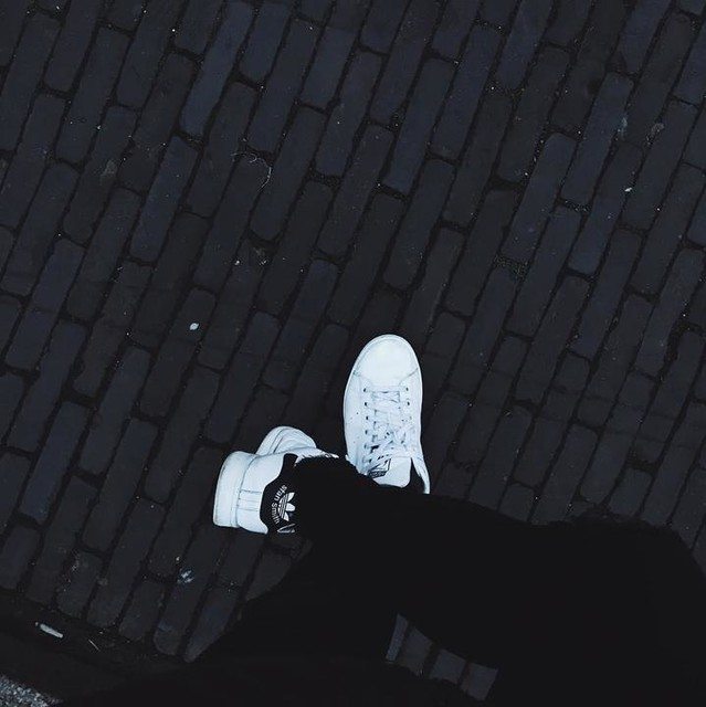 Have been wearing my @adidas all around the world. New adventures already on the horizon! • • • • • • • #black #white #fashion #simplicity #minimalism #adidas #stansmith #freshkicks #clean #lines #blackaddict #netherlands #utrecht #travel #neverstop #blessed #lifestyle