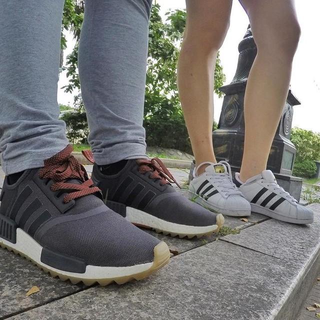 Three stripes represent!  #adidas #nmdrx1trail #nmd #gumsole #threestripeslife #threestripes #3stripesstyle  #superstar #adidassuperstar #adidasnmd #fortheloveofsneakers