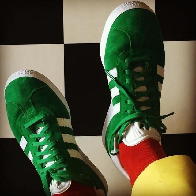 Thanks Sven👞👌🏼#sneakerbarkonstanz #ilovethem #adidas #gazelle