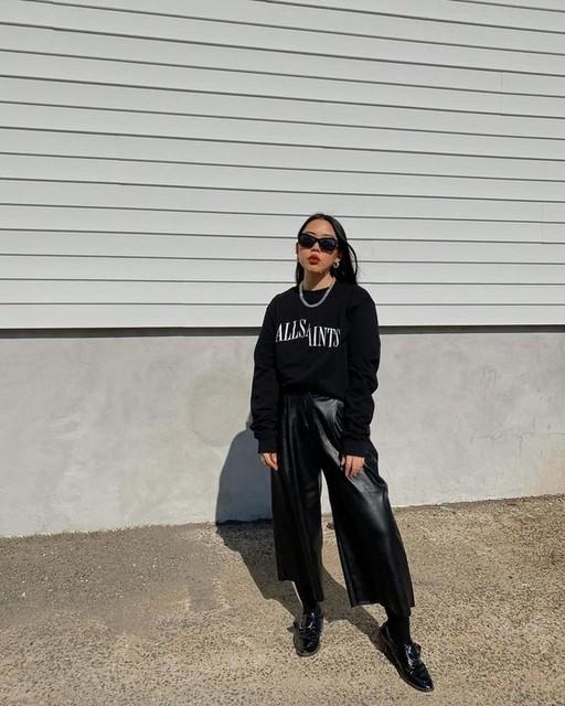 nanatbt - Dropout Crew Pullover