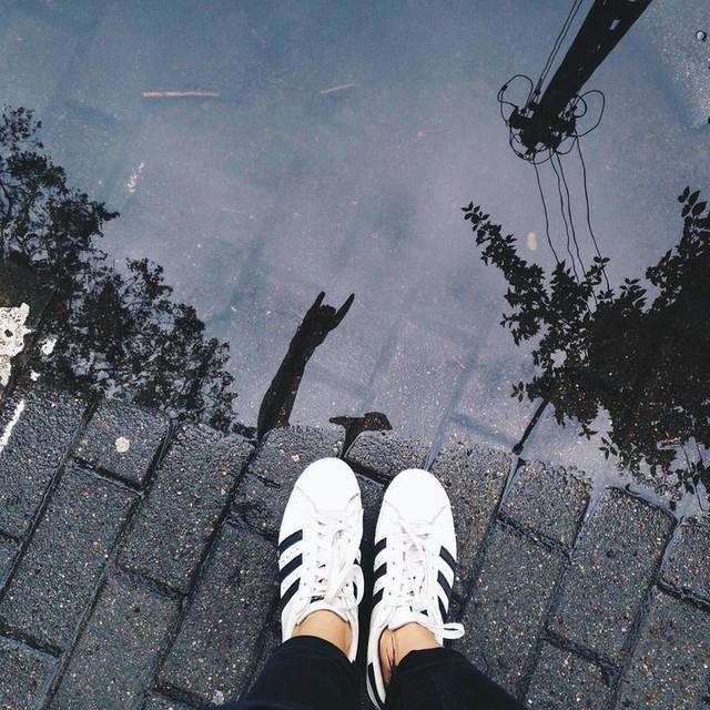 🤘🏻 #adidas #adidaspl #adidasoriginals #yesadidas #warsaw #street #puddle #puddlegram #vsco #vscocam #vzcopoland #vzcowarsaw #shoes #superstar #womft #kicks #threestripes