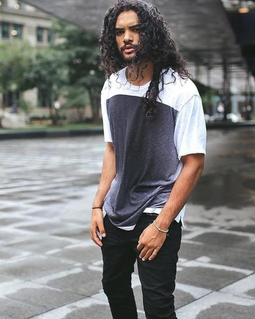 cristianncruz - Rex Straight Skinny Jeans